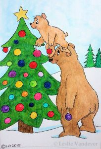 Decorating Bears-Watermark
