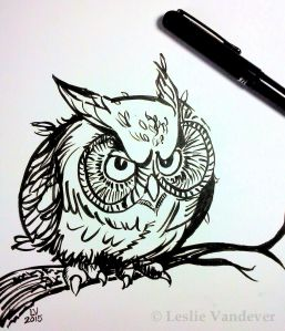 Grouchy Owl-Watermark